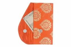 Orange Handmade Sanvatsar Money Envelop
