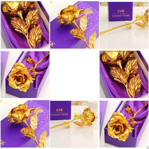 Image result for 24k gold rose