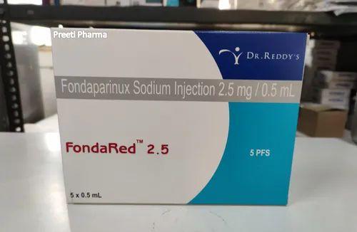 Fondared 2.5mg Injection