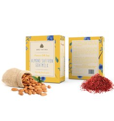 Aro Vatika Best Quality Almond Saffron Goatmilk Premium Silk Soap, 100g