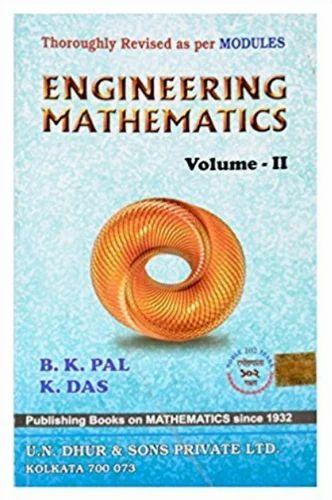 engineering mathematics das pal vol 2
