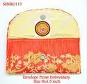 Envelope Purse Embroidery