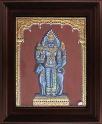 Kala Bairavar Painting
