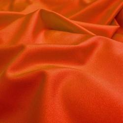 Orange Dull Lycra Fabric
