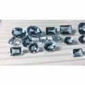 Aquamarine Cut Semi Precious Stone