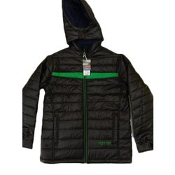 Polyester Jacked With Hood, Size: L XL XXL
