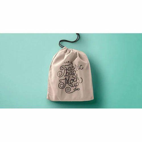 Printed Small Drawstring Bag
