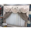 Cotton Plain Decorative Window Wedding Curtain