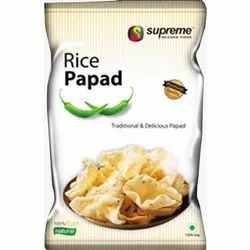 Rice Papad, Packaging Size: 100g And Also Available In Kgs