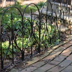 Exceptional Garden Border Fence