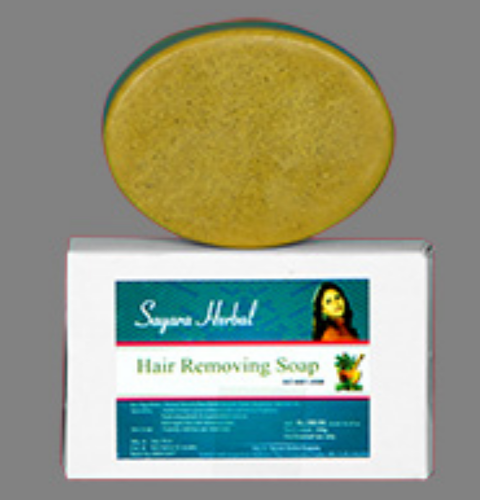 Hair Removing Soap At Rs 100 Piece Hair Care Soap Sayara Herbal