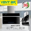 Ventair Kitchen Chimney Benz Curve