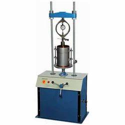 Laboratory California Bearing Ratio Apparatus