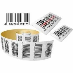 PVC Barcode Stickers, Packaging Type: Roll