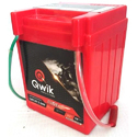 Qwik 2.5ah Motorcycle Acid Lead Battery