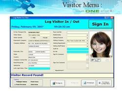 Visitor Management System (Stand-Alone and Web Based )