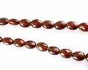Hessonite Garnet Oval Faceted Beads