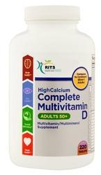 High Calcium With Vitamin D, Mineral And Multivitamins