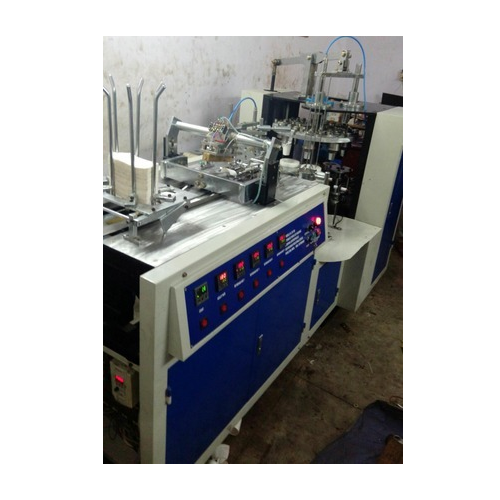 Fully Automatic Paper Cup Making Machine, Production Capacity: 3000-4000 piece/hr