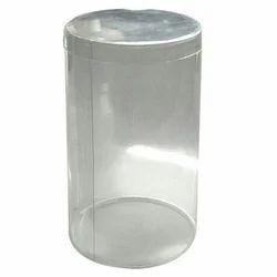 6 PVC Plastic Jar