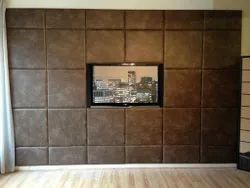 Leather Wall Paneling