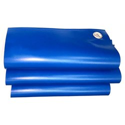 Blue Lamicoats PVC Coated Tarpaulin Fabric, Size: 18x15 Feet
