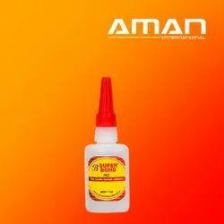 Cyanoacrylate Super Glue Furniture Adhesive, Packaging Type: Bottle