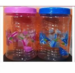 Royal Rio Pet Jar 2000ml Pritend With Spoon