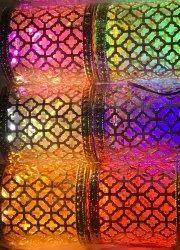 Golden Beads Decorative LED Toran