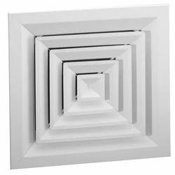Aluminum HVAC Square Diffuser