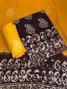 Female Cotton Batik Dress Material