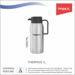 Stainless Steel Thermos 1 Ltr