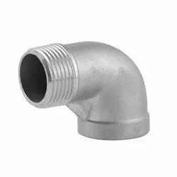Stainless Steel 90 Degree Elbow, Size: 1-4 Inch