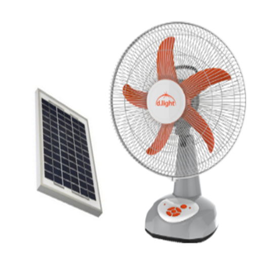 Solar Powered Table Fan