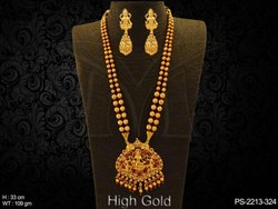 Fancy Temple Necklace Set