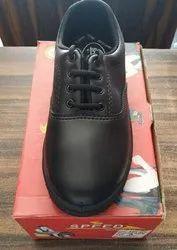 Speed Male Black School Shoes