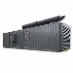 Air Cooling 1100 KVA Electric Diesel Generator Set, 415 V, for Industrial