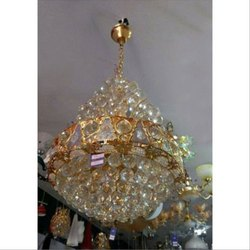 LED Round Crystal Hanging Chandelier