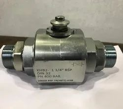 Hydraulic Ball Valve with Hose Adapter
