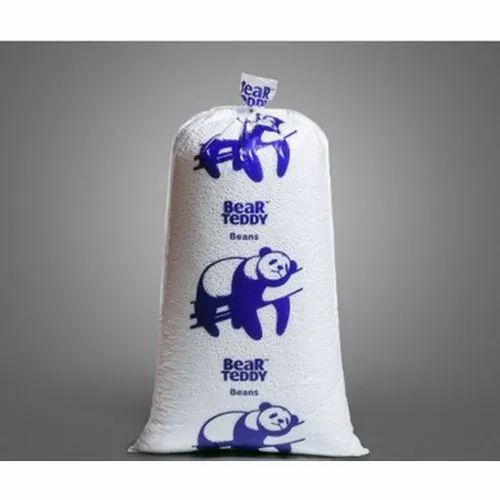 Bear Teddy Thermocol Beans, Packaging Type: Bag, For For Filling Bean Bag