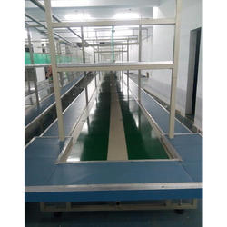 Mobile Assembly Fitting Belt Conveyor System