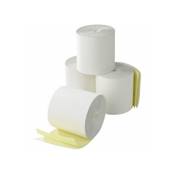 White Ticketing Roll 55 mm/2 inch, 50 GSM