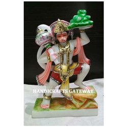 Marble Bajrang Bali Statue