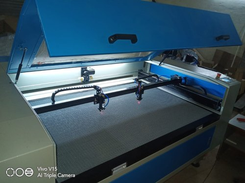 Co2 Laser Double Head Non Metal Cutting