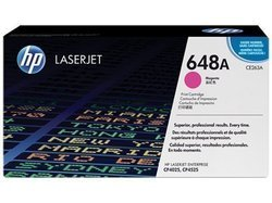 HP CE263A 648A Magenta Toner Cartridge