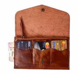 EL Solo Plain Women's Classic Leather Wallet, Compartments: 5