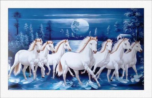 Seven Horses Paintings...