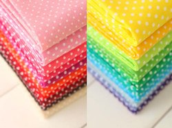 Fairtrade Organic Cotton Poplin Printed Multi Fabric