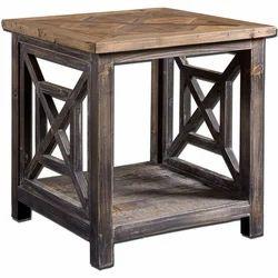 Brown Modern Kernig Krafts Mangowood Sheesham Side Table, For Cafe,Cafeteria & Restaurant