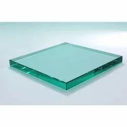 12mm Plain Glass, Thickness: 12.0 mm, Shape: Flat